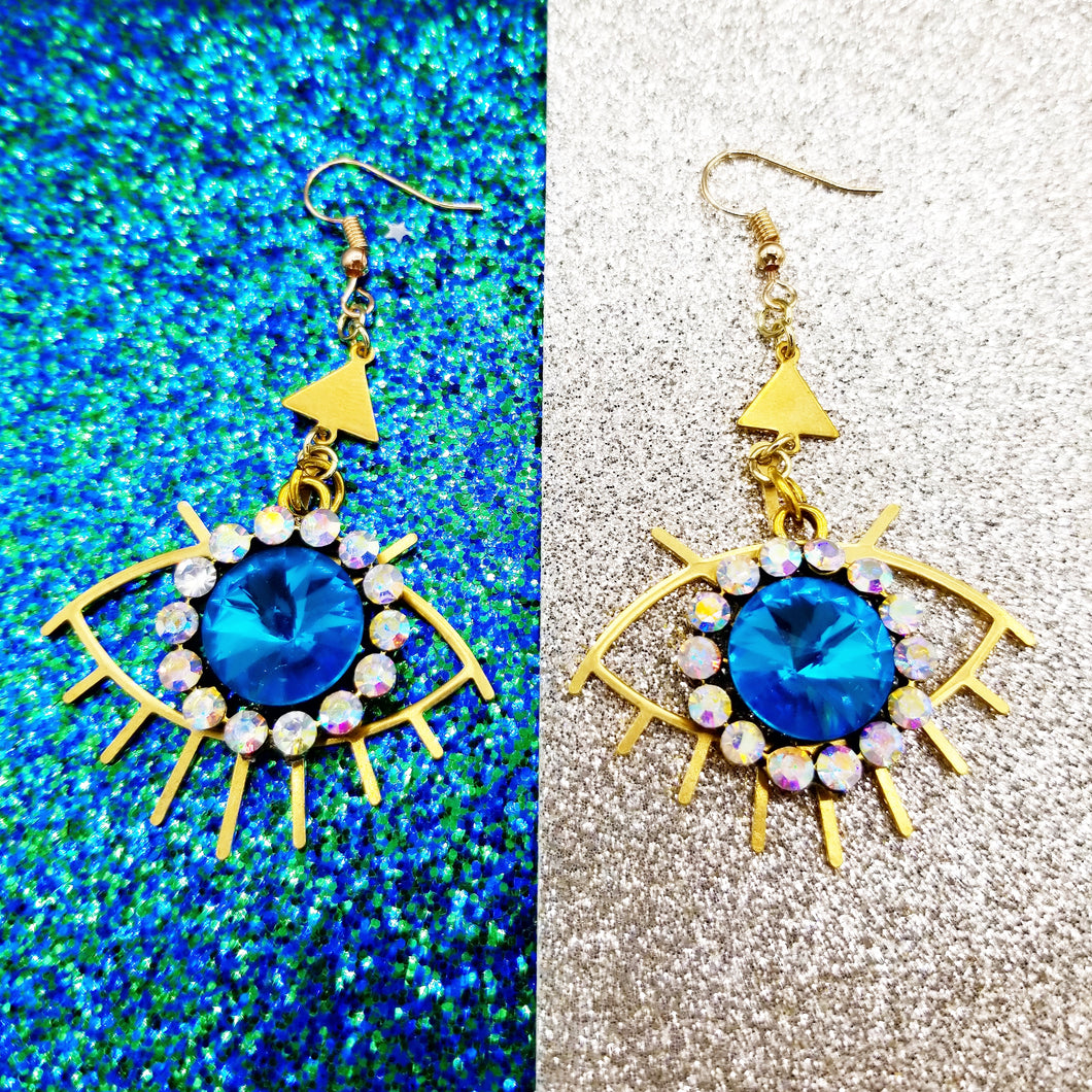 Ojo Blue eyes Earrings