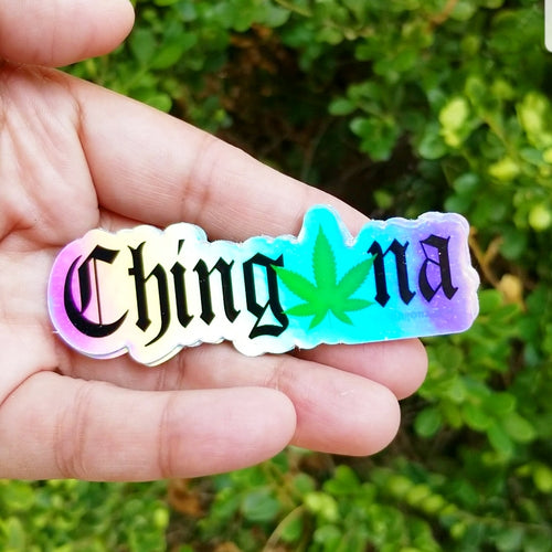 Chinganja Sticker