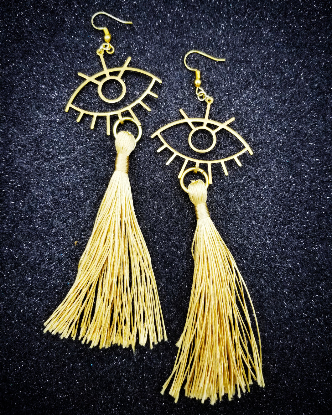 Ojo Dorado Earrings
