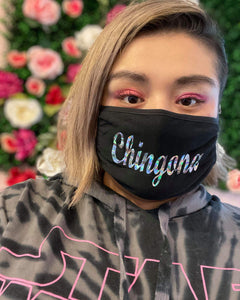 Holographic Chingona Mask