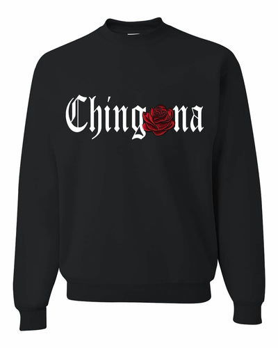 Chingona red rosa Sweatshirt