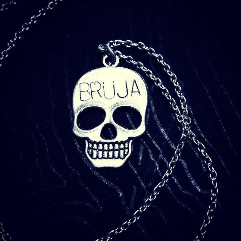 Brujx Skull Necklace
