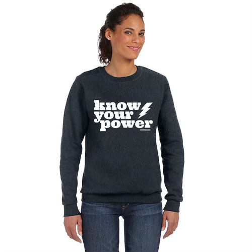 Know Your Power Sweatshirt
