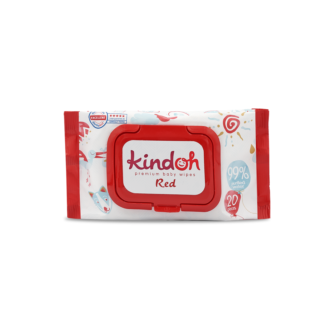 Kindoh Red Feuchttücher - Travel
