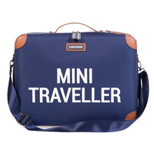 Afbeelding in Gallery-weergave laden, Mini Traveller Kinderkoffer | Navy Wit