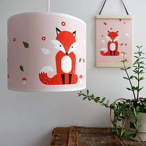 Hanglamp Vos | Oud Roze