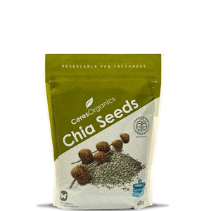 Ceres Black Organic Chia Seeds - 1kg