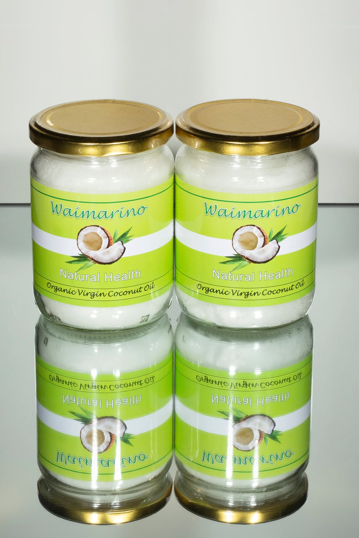 Waimarino Organic Coconut Oil 200mls 4 pack.
