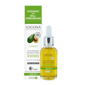 Logona Vitalizing Facial Oil 30ml