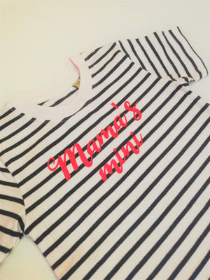 Striped Mama and Mini Tees