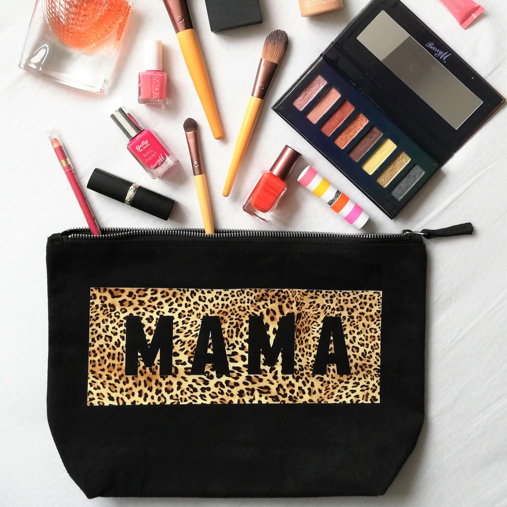 Leopard Print Mama Pouch