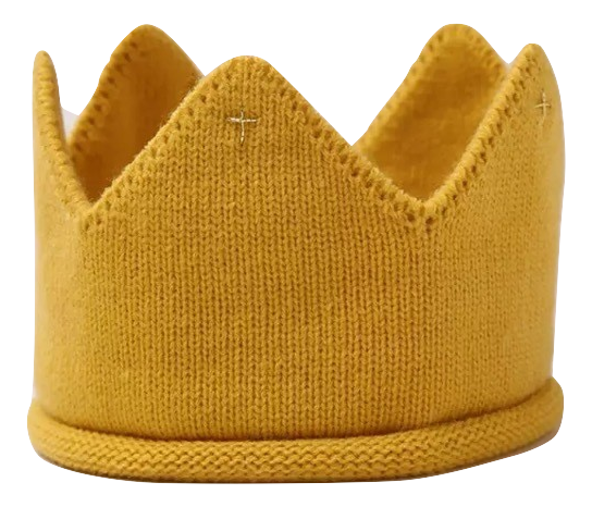 Knitted Crowns (various colours)