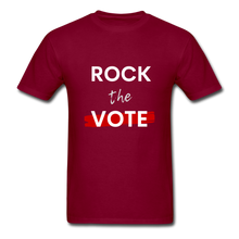 Load image into Gallery viewer, Rock the Vote - burgundy