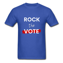 Load image into Gallery viewer, Rock the Vote - royal blue