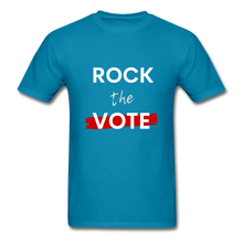 Load image into Gallery viewer, Rock the Vote - turquoise