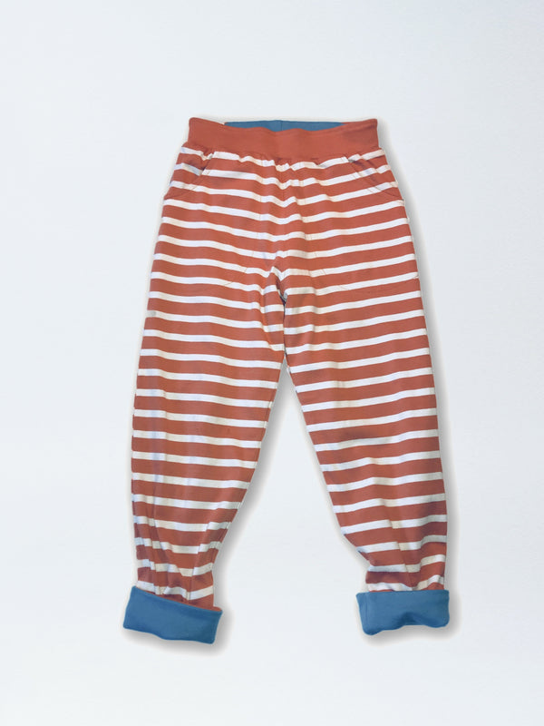 Reversible Stripe Jogger