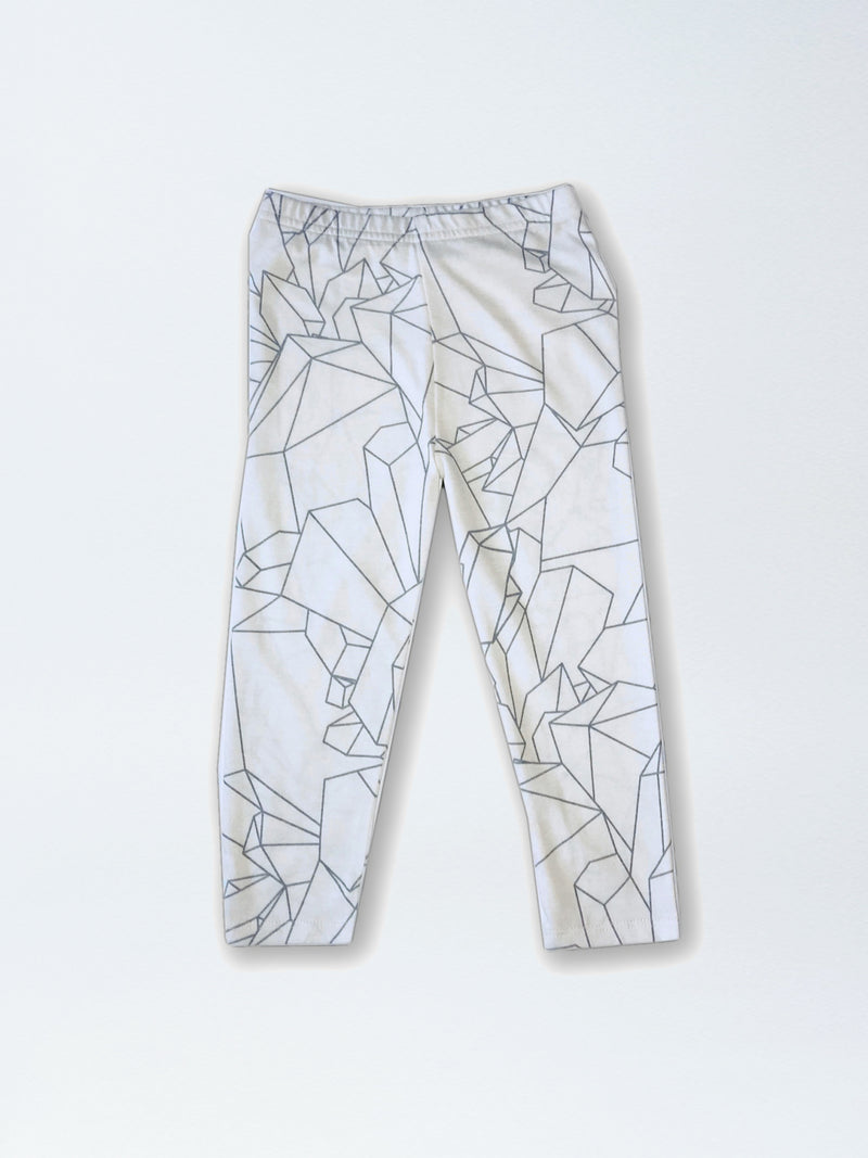 Leggings AOP | SLIM LEGGINGS - NATURAL AOP