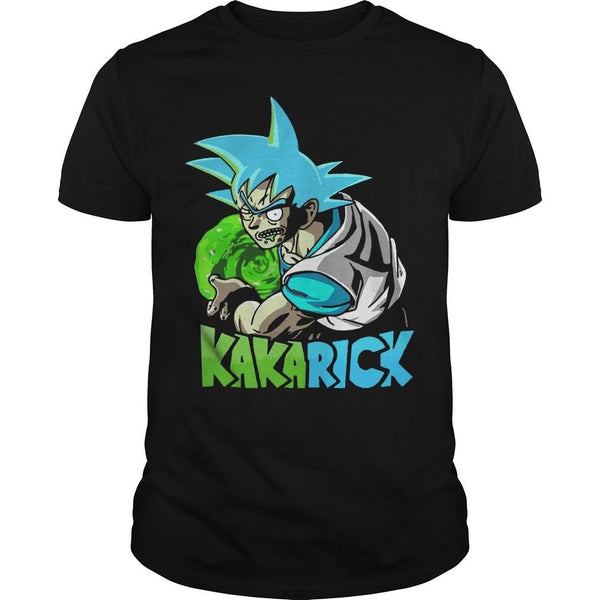 Dragon Ball Rick Morty KakaRick Funny T Shirt