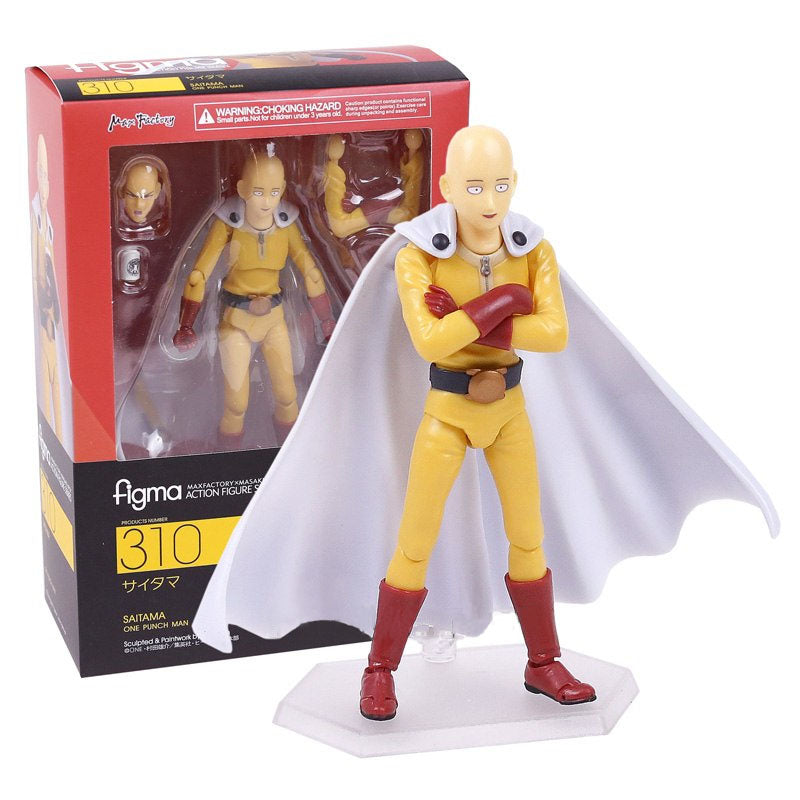 One Punch Man Saitama Collectible Action Figure Model
