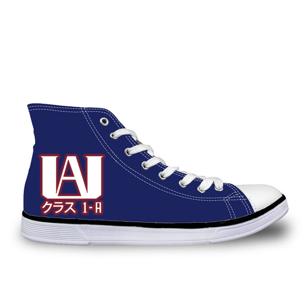 My Hero Academia UA Academy Class 1-A High Top Canvas Shoes - Otaku Gate Exclusive