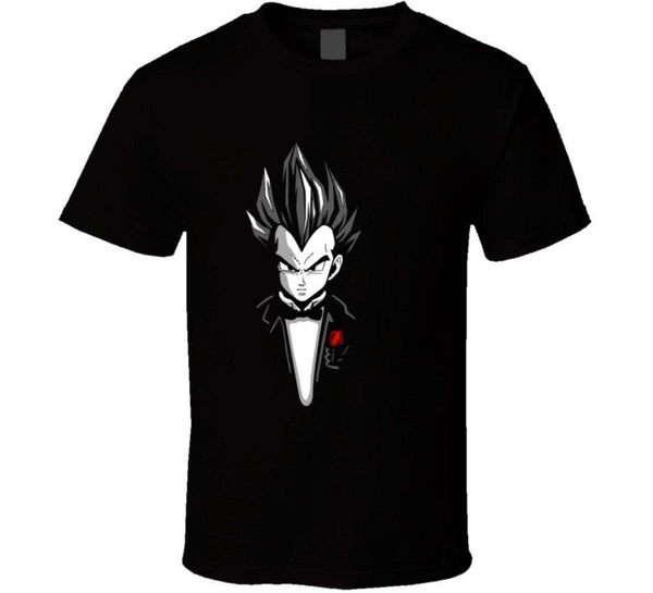 Dragon Ball Z Vegeta Suit Style T Shirt