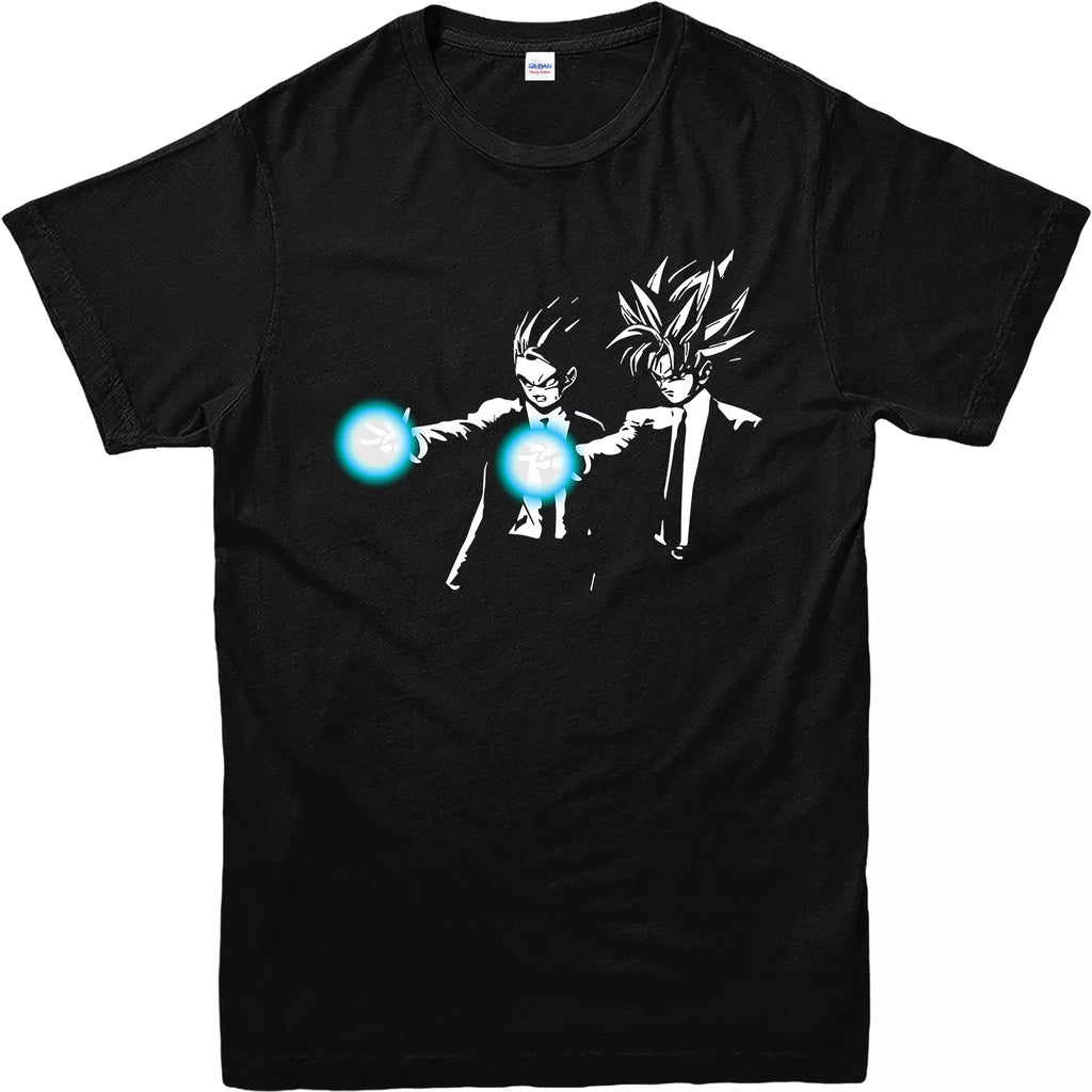 Dragon Ball Z Pulp Fiction Spoof T Shirt