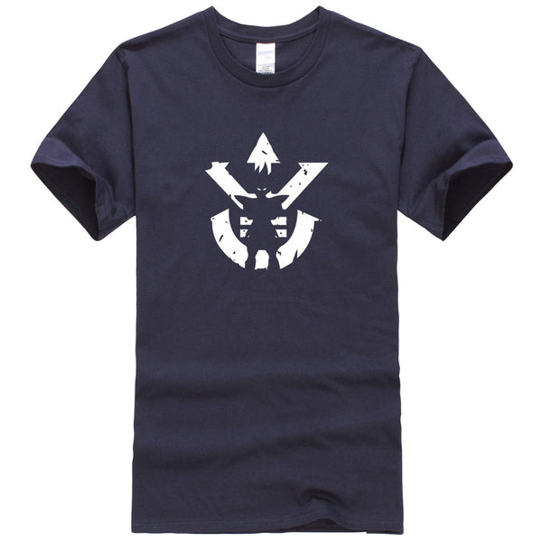 Dragon Ball Z Super Saiyan Crest T Shirt Vegeta Silhouette