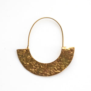 Sweated Hoop Earring