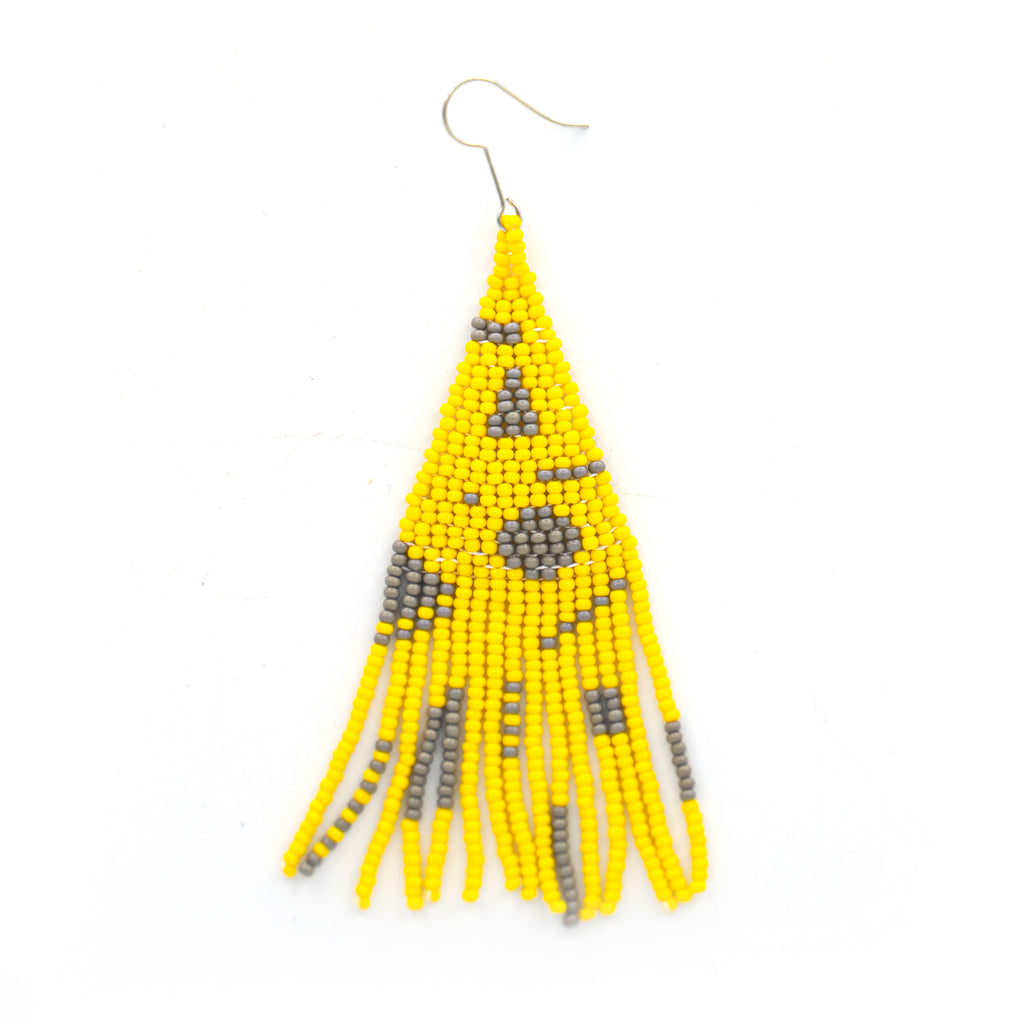 Beaded Funky Earring