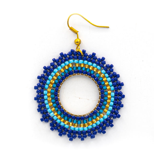 Beaded Sunshine Earring