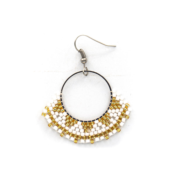 Beaded Zulu Skirt Earring