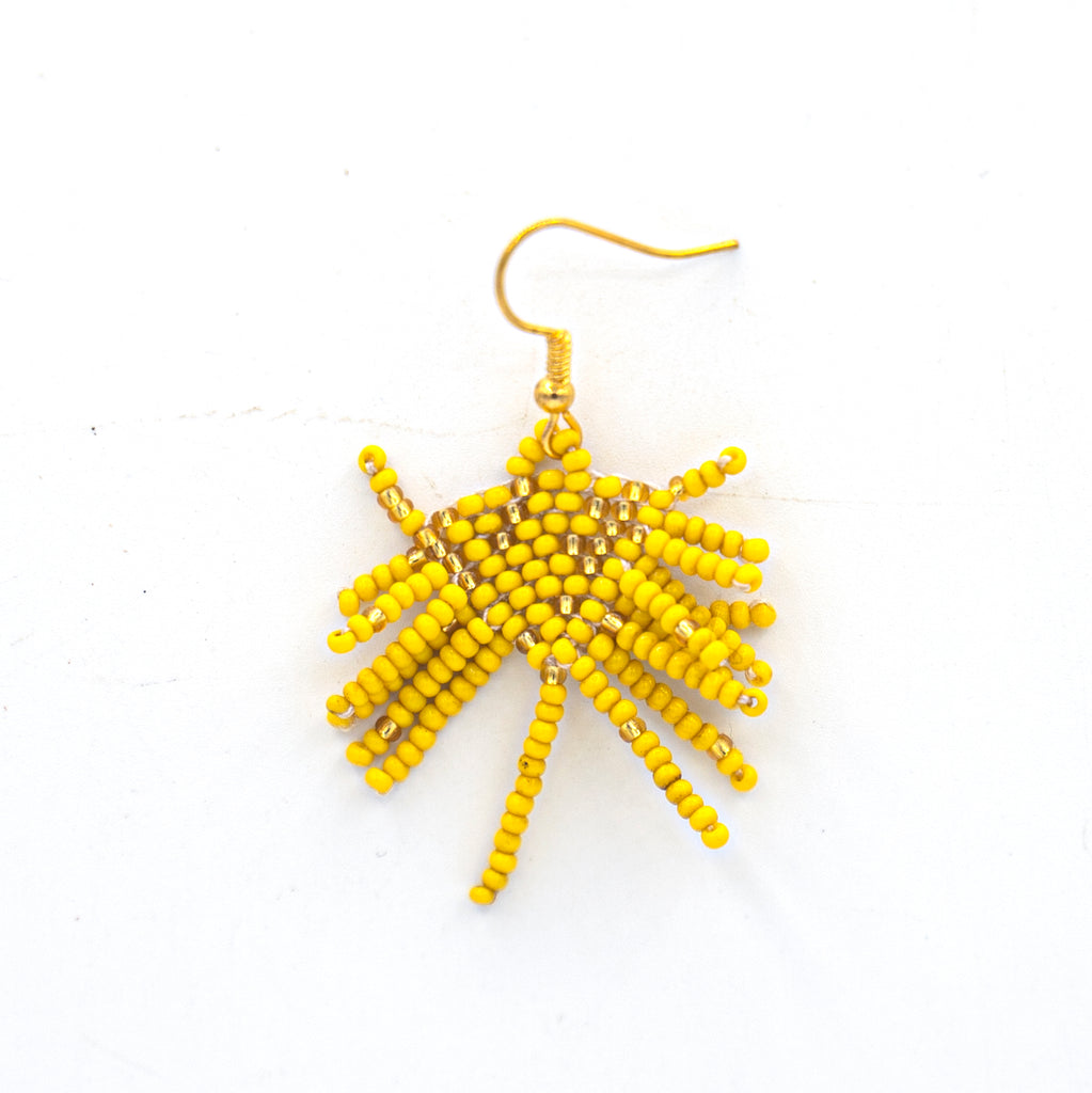 Beaded Fire Craker Earring