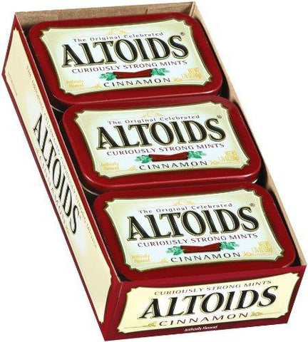 Altoids Cinnamon Breath Mints (1.76 oz.) Tin - 12 Count