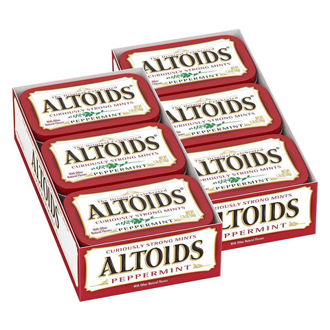 Altoids Classic Peppermint Breath Mints (1.76 oz.) Tin 12-Count Box