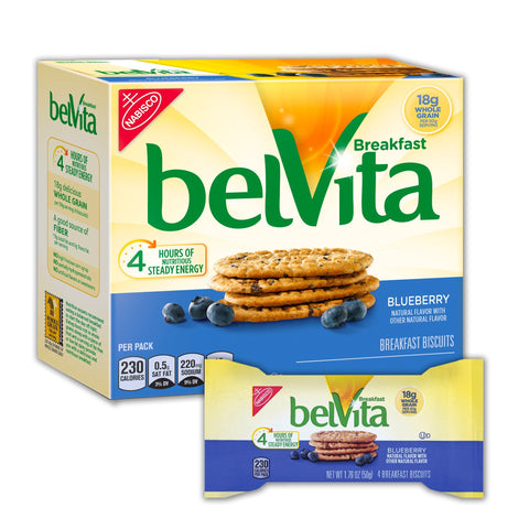 BELVITA Blueberry Breakfast Biscuits - 8 Count