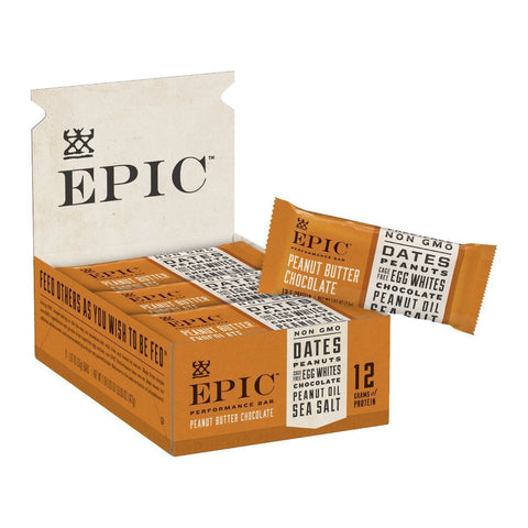 EPIC PERFORMANCE Peanut Butter Chocolate Protein Bars - 9 Count