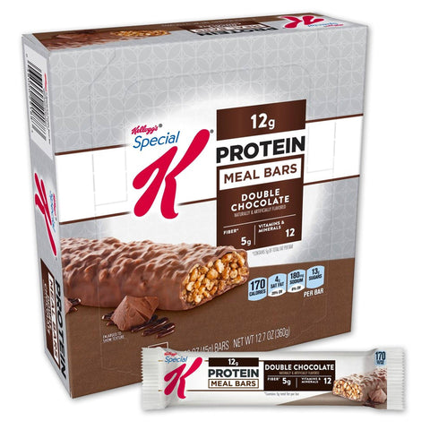 Kellogg's SPECIAL K Double Chocolate Protein Meal Bars - 8 Count