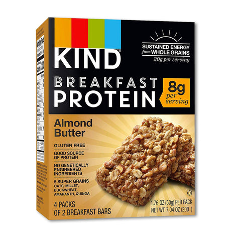 KIND Almond Butter Breakfast Protein Bars - 8 Count