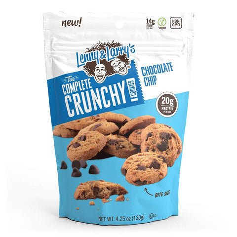 LENNY & LARRY'S The Crunchy Cookie, Chocolate Chip Protein Cookies - 12 Count