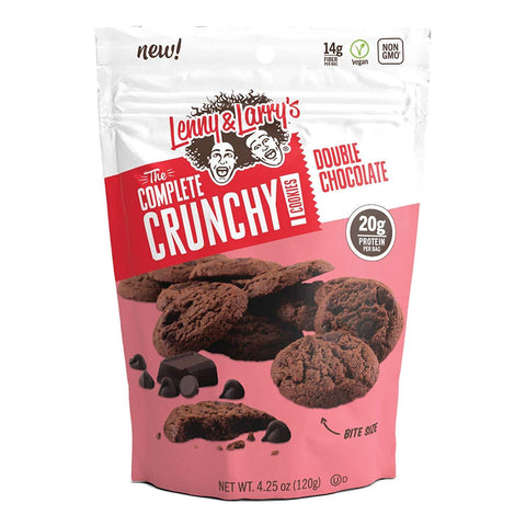 LENNY & LARRY'S The Crunchy Cookie, Double Chocolate Protein Cookie - 12 Count