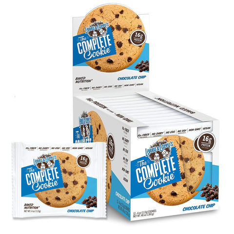 LENNY & LARRY'S Chocolate Chip Protein Cookie - 12 Count