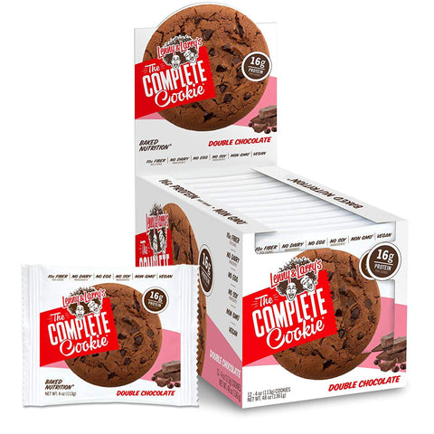 LENNY & LARRY'S Double Chocolate Protein Cookie - 12 Count