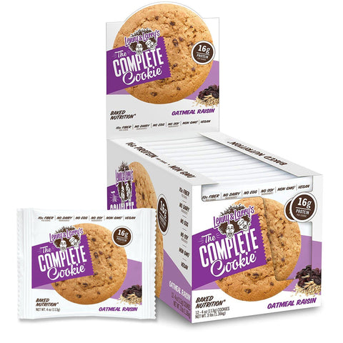 LENNY & LARRY'S Oatmeal Raisin Protein Cookie - 12 Count