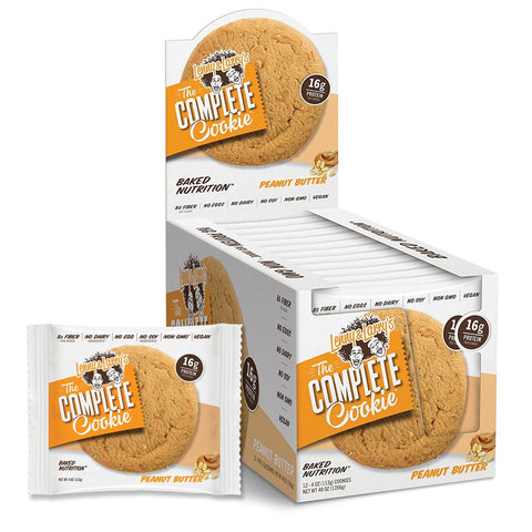 LENNY & LARRY'S Peanut Butter Protein Cookie - 12 Count