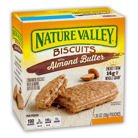 NATURE VALLEY Almond Butter Biscuits - 16 Count