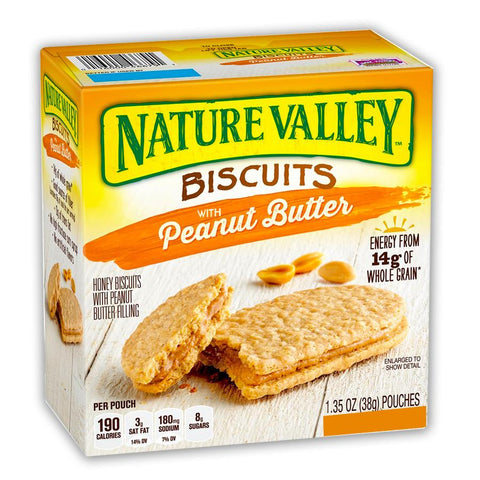NATURE VALLEY Peanut Butter Biscuits - 16 Count