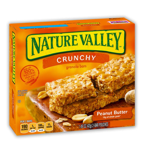 NATURE VALLEY Peanut Butter Granola Bars - 36 Count