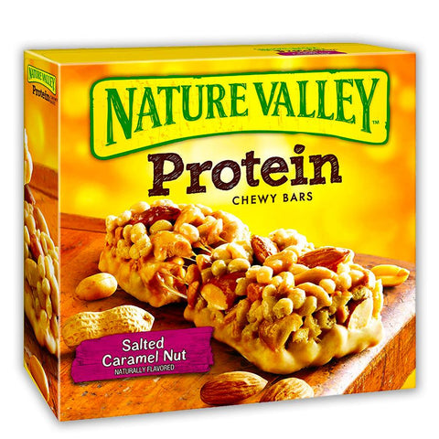 NATURE VALLEY Salted Caramel Nut Protein Bars - 16 Count