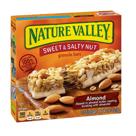 NATURE VALLEY Almond Sweet & Salty Granola Bars - 16 Count