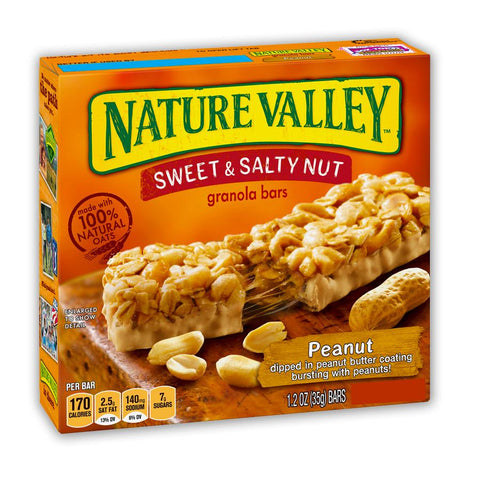NATURE VALLEY Peanut Sweet & Salty Granola Bars - 16 Count